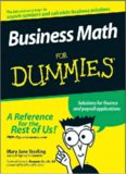 Business Math For Dummies (For Dummies (Business & Personal Finance))