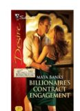 Billionaire's Contract Engagement (Harlequin Desire)