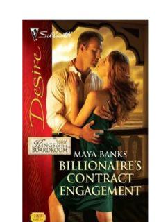 Billionaire's Contract Engagement (Harlequin Desire)
