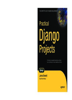Practical Django Projects - [Bennett].pdf