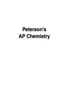 Peterson's Ap Chemistry (Peterson's Ap Chemistry)