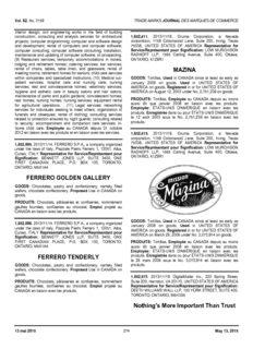 FERRERO GOLDEN GALLERY FERRERO TENDERLY MAZINA Nothing's More Important Than ...