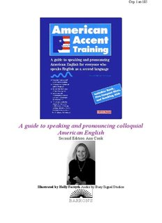 A guide to speaking and pronouncing colloquial American English
