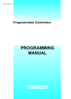 PROGRAMMING MANUAL - Scantime | PLC and SCADA Training