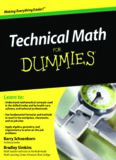 Technical Math For Dummies (For Dummies (Math & Science))
