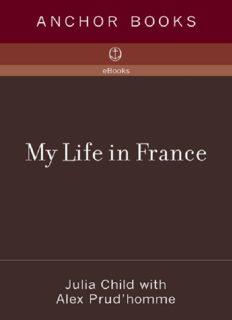 My Life in France My Life in France My Life in France
