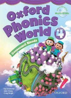 Oxford Phonics World 4 Student Book