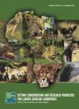 setting conservation and research priorities for larger african carnivores