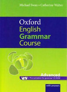 Oxford English grammar course - Advanced