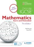 Cambridge IGCSE Mathematics: Core & Extended
