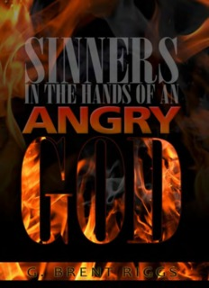Sinners in the Hands of an Angry God - Brent Riggs
