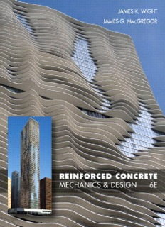 Reinforced Concrete Mechanics and Design 6th Edition by Wight