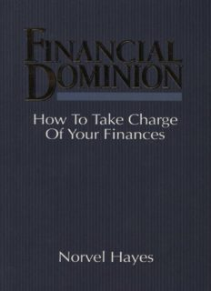 Financial dominion : how to take charge of your finances