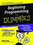 Beginning Programming for Dummies 3rd