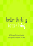 Better thinking better living - Joyce Meyer