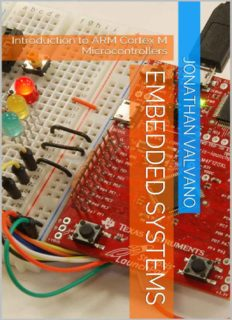 Embedded systems: introduction to ARM® Cortex(TM)-M microcontrollers