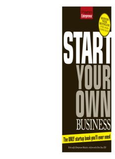 Start Your Own Business, Fifth Edition: The Only Start-Up Book You'll Ever Need