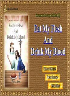 Sermons on the Gospel of John (3): Eat My Flesh and Drink My Blood
