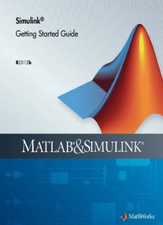 Simulink Getting Started Guide - MathWorks - MATLAB and Simulink