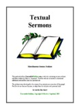 Textual Sermons - Executable Outlines - Free sermon outlines and