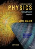 Fundamentals of Physics Extended 10th Edition Instructor's Solutions Manual (2013)