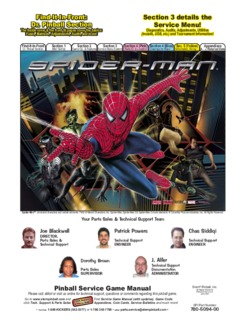 Spider-Man Manual Spider-Man Manual - Stern Pinball