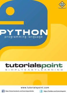 Download PYTHON Tutorial