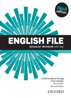 Page 1 ENSE Advanced Workbook With key N 7. N Christina Latham-Koenig Clive Oxenden Jerry ...