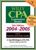 Wiley CPA Examination Review, Outlines and Study Guides (Wiley Cpa Examination Review Vol 1: Outlines and Study Guides) (Volume 1)