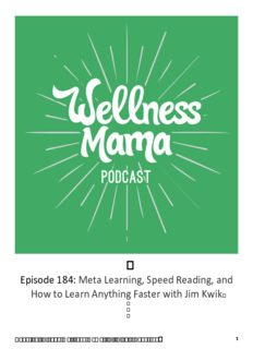 Meta Learning, Speed Reading, and How to Learn Anything Faster with Jim Kwik