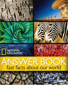 Answer book : fast facts about our world