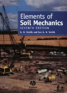 Elements of Soil Mechanics. 7th Edition