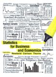 Statistics for Business and Economics 8th Ed by Newbold