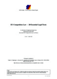 Tobler, Beglinger, Geursen; Essential EU Competition - EUR-Charts