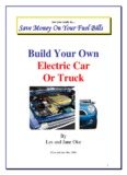 Build Your Own Electric Car Or Truck