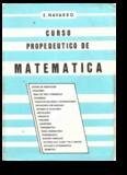 e navarro – propedeutico de matematica