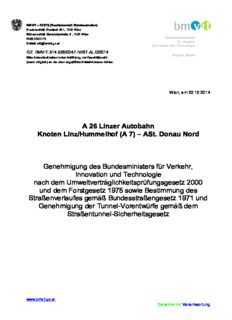 A 26 Linzer Autobahn Knoten Linz/Hummelhof