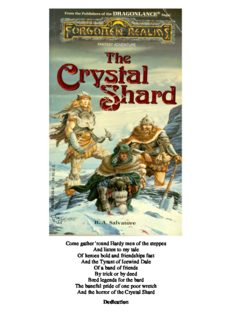 Forgotten Realms - The Icewind Dale Trilogy 01 - The Crystal Shard (1988) (Salvatore, R.A.)_ BM O