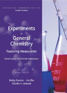 Experiments in General Chemistry: Featuring MeasureNet