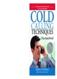 Cold Calling Techniques: That Really Work