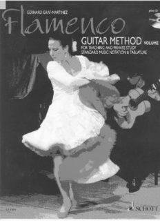 Flamenco Guitar Method vol.1