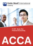 F3 INT Study Text Financial Accounting ACCA