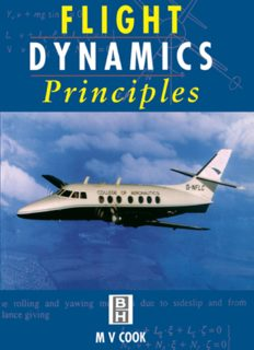 Flight Dynamics Principles. A Linear Systems Approach to Aircraft Stability and Control