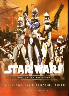 d20 - Star Wars Saga Edition - Clone Wars Campaign Guide