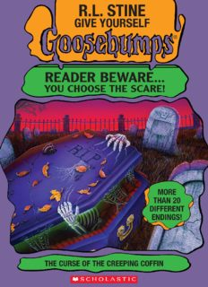 Give Yourself Goosebumps 8 - the curse of the creeping coffin