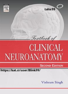 Textbook of Clinical Neuroanatomy