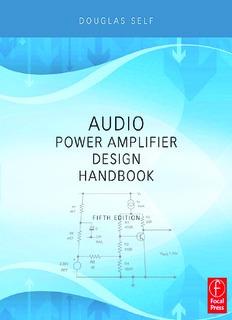 Audio Power Amplifier Design Handbook, Fifth Edition