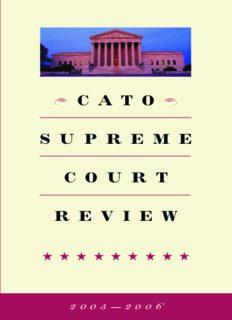 Cato Supreme Court Review, 2005-2006 (Cato Supreme Court Review)