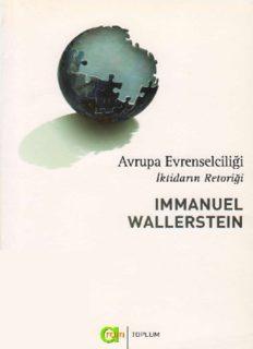 Avrupa Evrenselciliği, İktidarın Retoriği - Immanuel Wallerstein