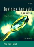 Business analysis & valuation : using financial statements : texts & cases